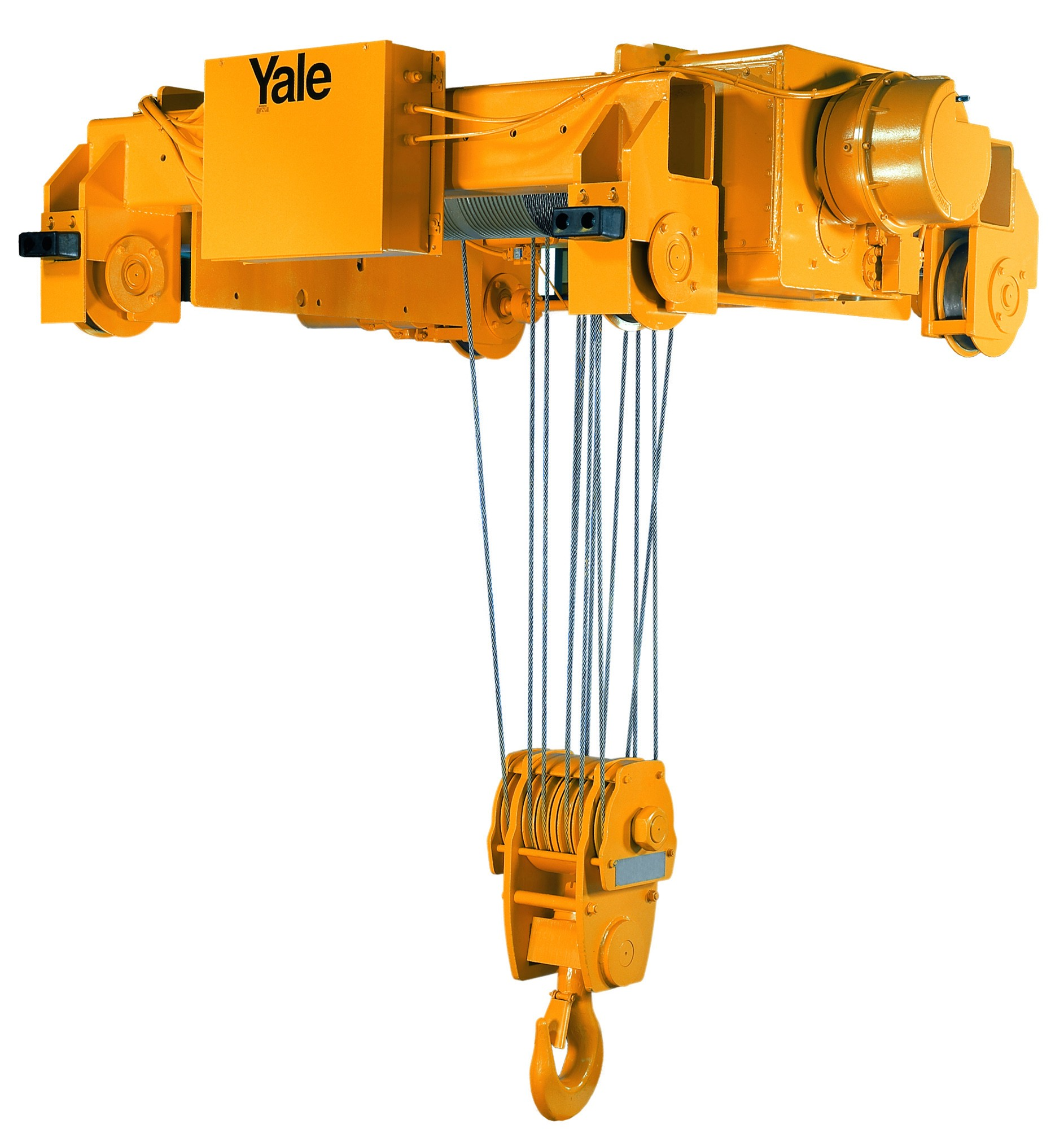 YALE - Cable King 7-1/2 Ton Electric Wire Rope Hoist (35fpm & 173' Lift Double Reeve)