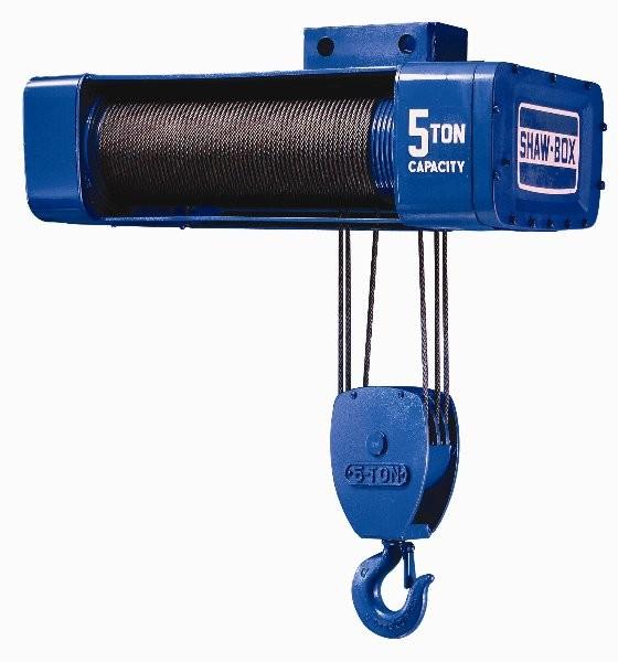 Y80 1 Ton Air Powered Shaw-Box (33 fpm, 50')