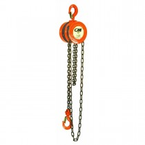 CM - Series 622 1 Ton Hand Chain Hoist (No Chain)